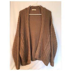 L.A. Hearts chunky Knit sweater/cardigan